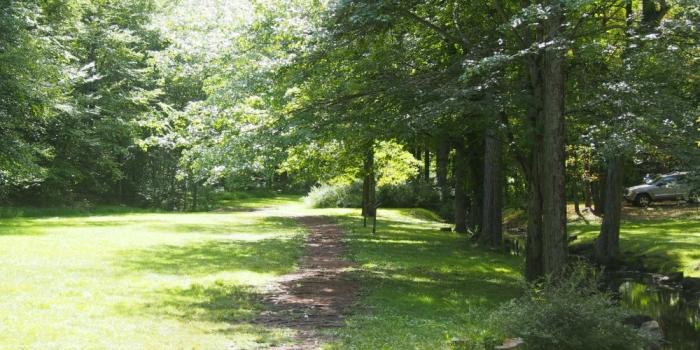 【Gedney Park】Chappaquaにある芝生と湖畔がきれいな公園