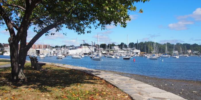 【Harbor Island Park】 Mamaroneckのリッチに海が見渡せる公園