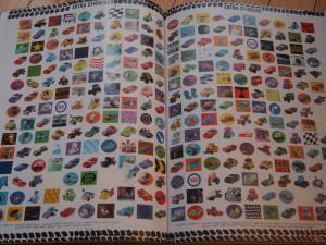 【Cars Sticker Collection】 おりこうさんシールに最適!カーズのステッカー集
