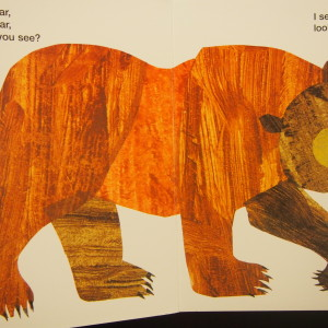 【Brown Bear, Brown Bear, What Do You See?】 Toddler classの定番絵本(動画付き)