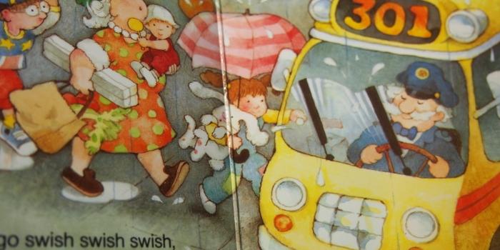 【Wheels On The Bus】 プレゼントにも最適!車好き男子のための音楽本(動画付き)