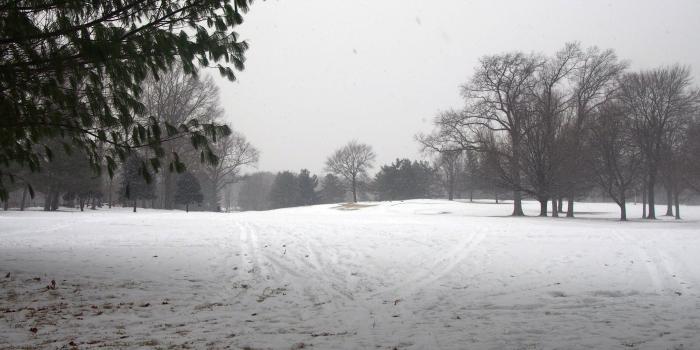 【Saxon Wood Park】 冬はそり遊びができる公営ゴルフ場!