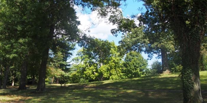 【Malcolm Wilson Park】 Tuckahoe、Yonkersの小さな丘にある公園