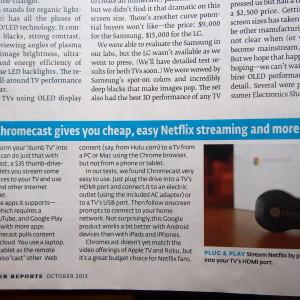 【Chromecast】 実はこれがあればケーブルテレビ不要?