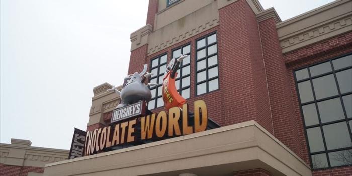 【HERSHEY'S CHOCOLATE WORLD】 ペンシルバニアのチョコレート工場