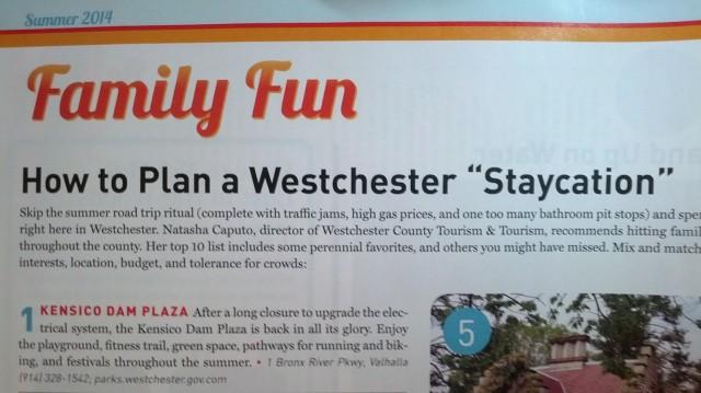 【Westchester Magazine】westchester staycation!