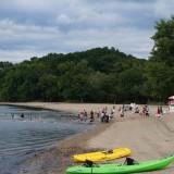 【Croton Point Park】 ハドソンリバーに面したビーチのある公園
