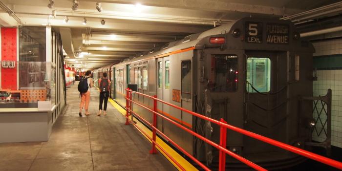 【New York Transit Museum】 ブルックリンの鉄道博物館